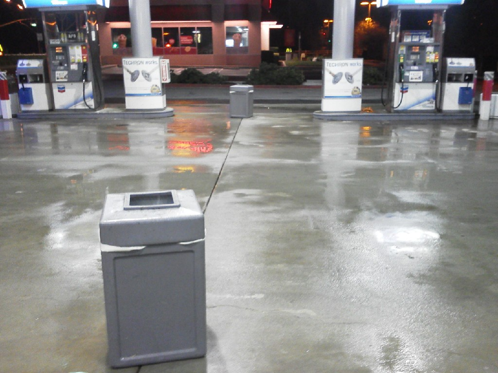 Gas Station Pressure Wash