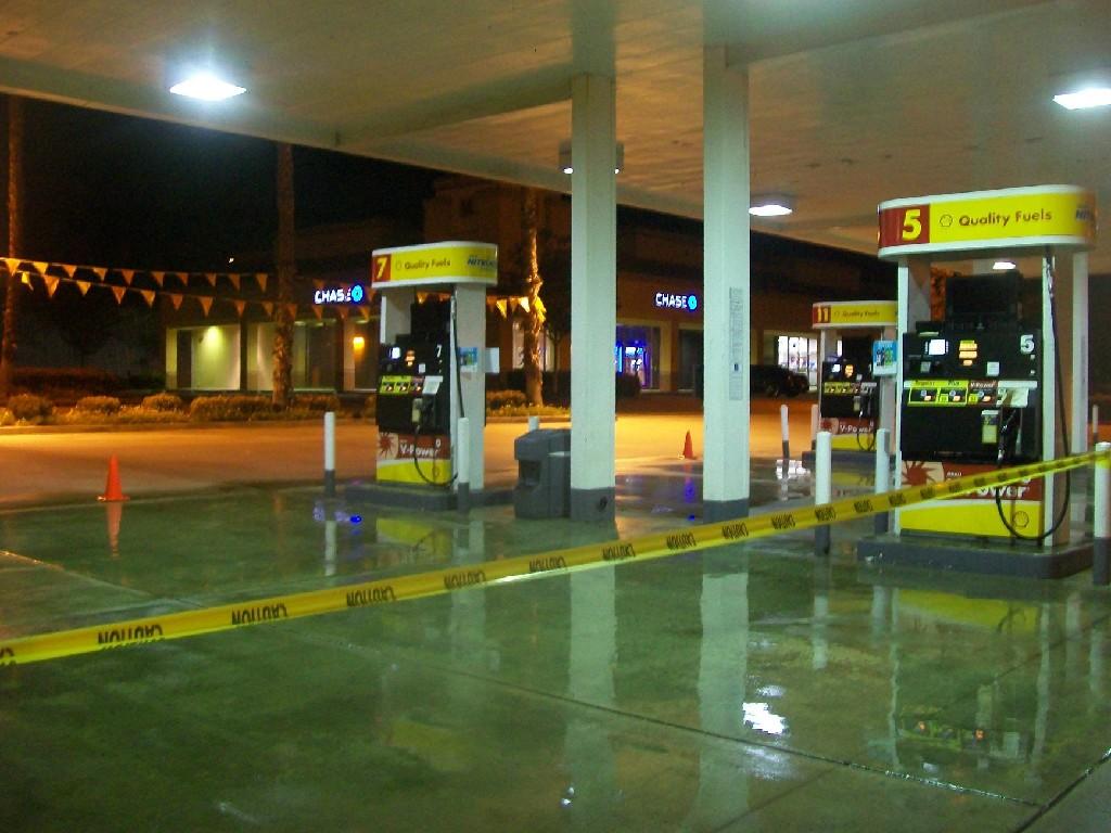 Gas Station Pressure Wash
