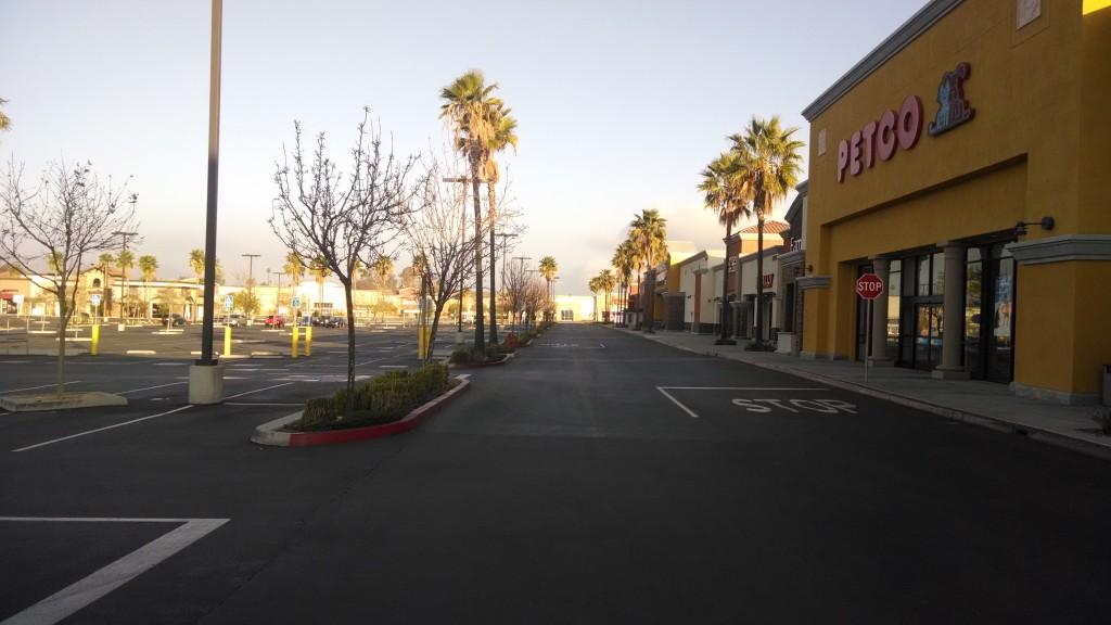 Petco Parking Lot